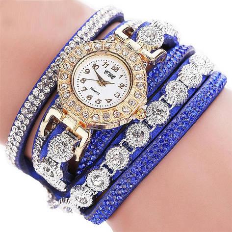 """Женские наручные часы """"CCQ"""" (синий ремешок), фото 2"""