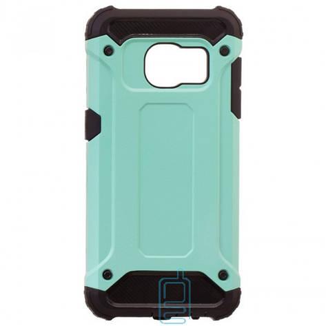 Чехол-накладка Motomo X5 Samsung S7 G930 бирюзовый, фото 2
