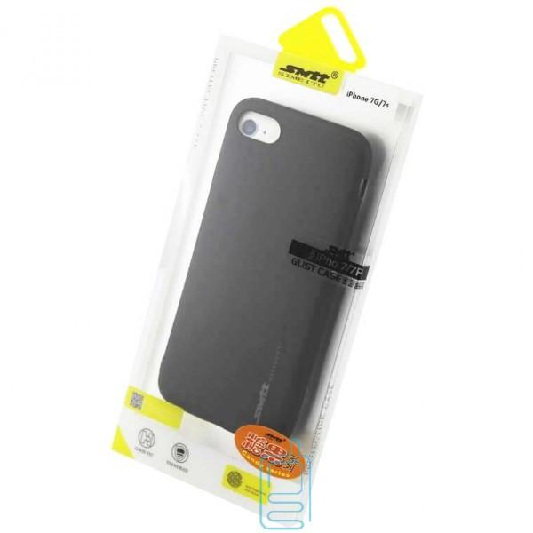 Чехол силиконовый SMTT Apple iPhone 7. iPhone 8 черный