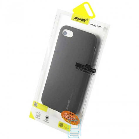 Чехол силиконовый SMTT Apple iPhone 7. iPhone 8 черный, фото 2
