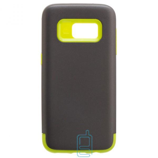 Чехол-накладка Motomo X1 Samsung S7 G930 серо-зеленый