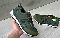 РАСПРОДАЖА!!! ! Мужские кроссовки Nike Zoom хаки