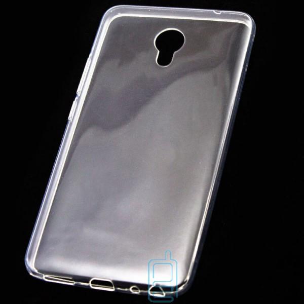 Чехол силиконовый Slim Meizu MX6 прозрачный