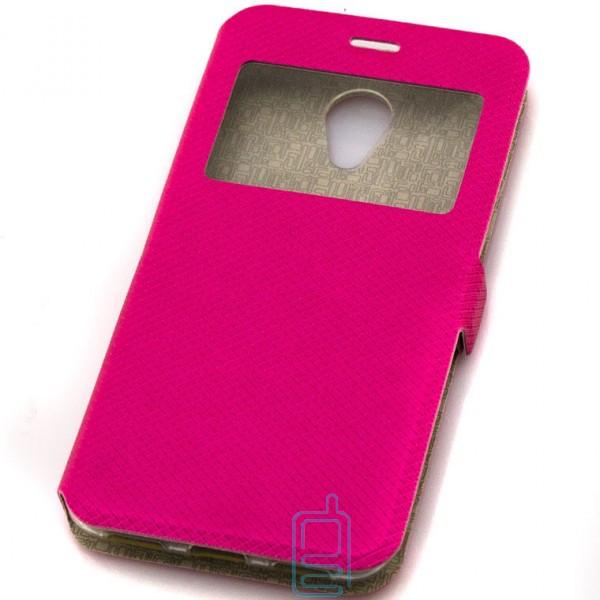 Чехол-книжка Modern 1 окно Meizu M3s Розовый