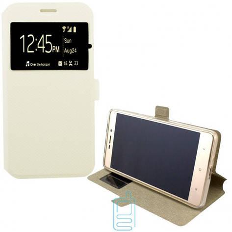 Чехол-книжка Modern 1 окно Samsung J1 Ace J110 белый, фото 2