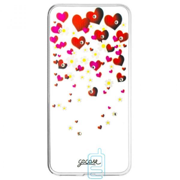 Накладка Fashion Diamond Huawei P9 Lite принт #4