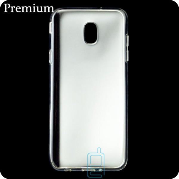 Чехол силиконовый Premium Samsung J7 2018 J737 прозрачный
