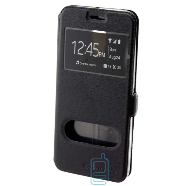 Чехол-книжка Nillkin 2 окна Huawei P10 черный