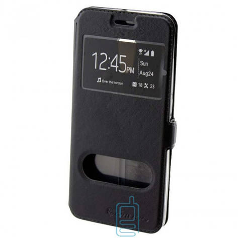 Чехол-книжка Nillkin 2 окна Huawei P10 черный, фото 2