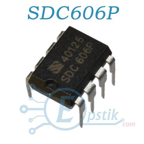 SDC606P, ШИМ контроллер, DIP8