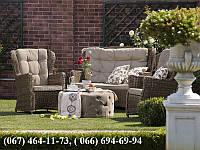 Набор мебели Сиена, коричневый или белый набор, мебель из искусственного ротанга - мебель плетеная