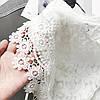 Нежная гипюровая блуза-топ 44 (в расцветках), фото 5