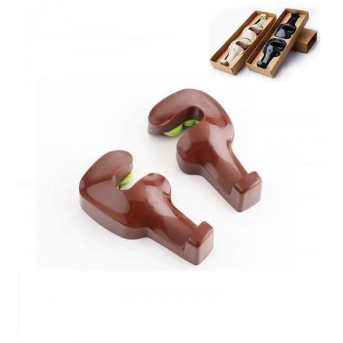 Держатели (крючки) для сумок и пакетов в автомобиль Creative Car Hook (коричневый)