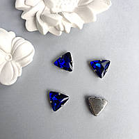 Стразы Треугольник 18 мм. Цвет: Royalblue