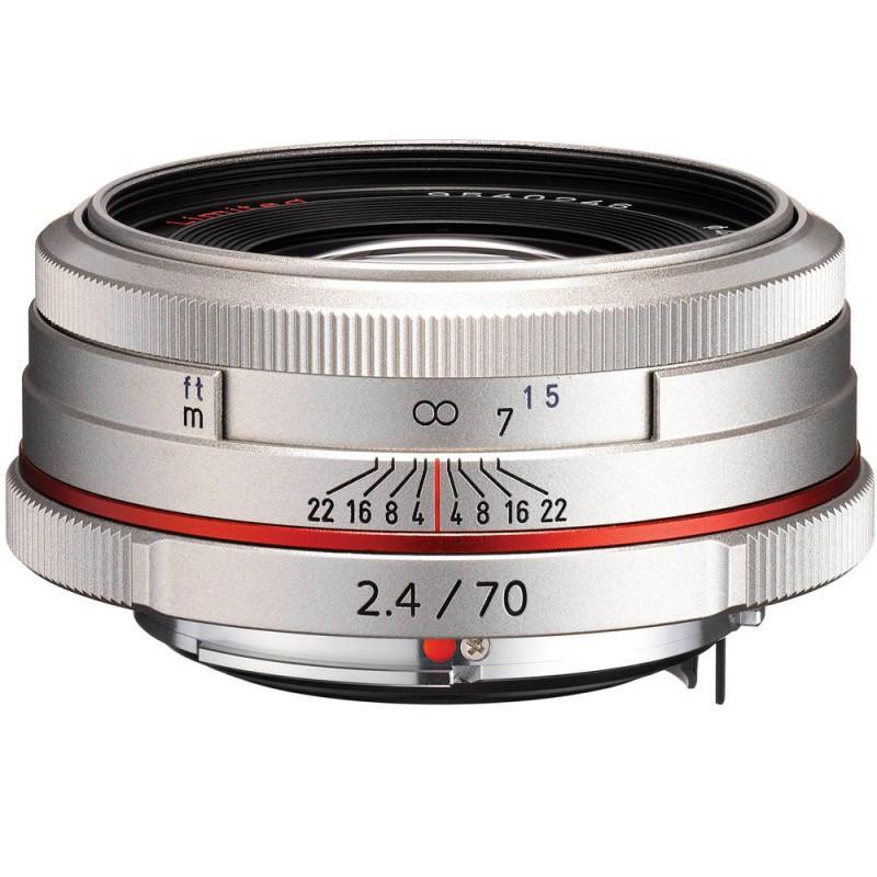 Объектив HD Pentax DA 70mm F/2.4 Limited Silver ( на складе )