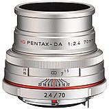 Объектив HD Pentax DA 70mm F/2.4 Limited Silver ( на складе ), фото 2