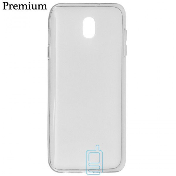 Чехол силиконовый Premium Samsung J7 2018 J737 затемненный