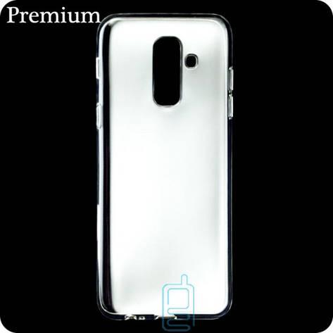 Чехол силиконовый Premium Samsung A6 Plus 2018 A605 прозрачный, фото 2