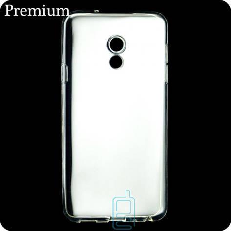 Чехол силиконовый Premium Meizu 15 прозрачный, фото 2