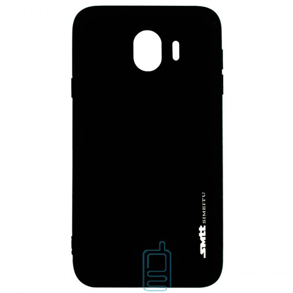 Чехол силиконовый SMTT Samsung J4 2018 J400 черный