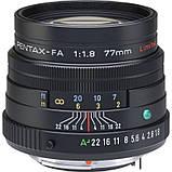 Об'єктив Pentax SMC FA 77mm F/1.8 Limited Black / під замовлення, фото 2