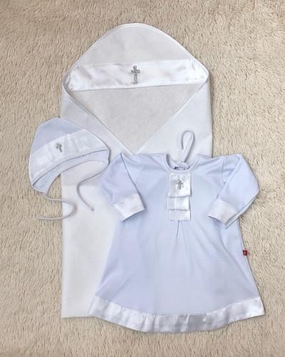 Крыжма с рубашкой Ангел, белая