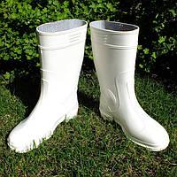 Сапоги резиновые мужские белые Verona