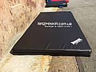 Гимнастический мат 200х100х10см, черный, фото 2