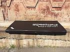 Гимнастический мат 200х100х10см, черный, фото 3