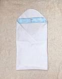 Крыжма с рубашкой Ангел, белая с голубым, фото 2