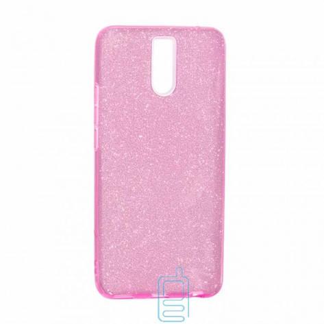 Чехол силиконовый Shine Meizu M6 Note розовый, фото 2