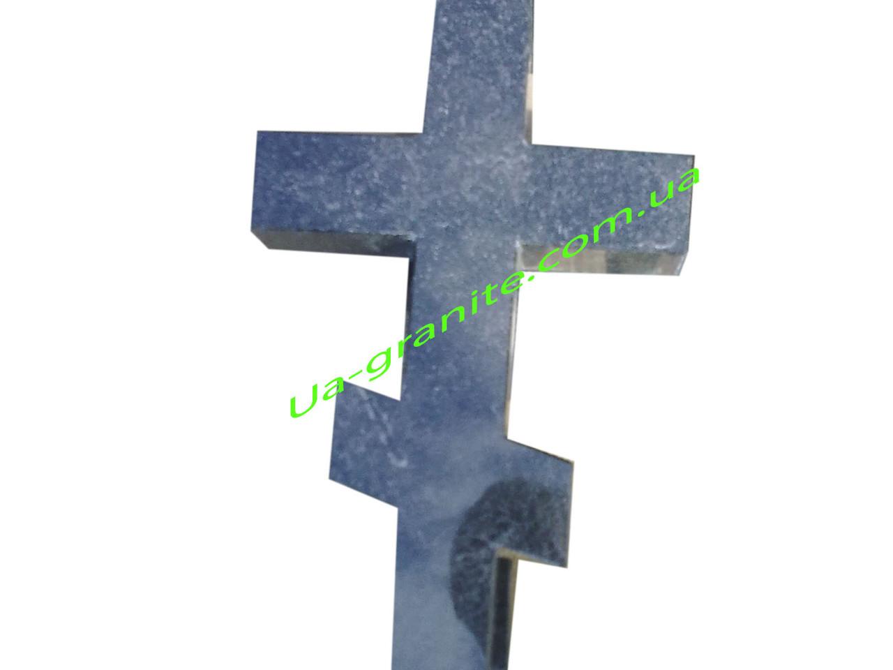 Хрест із граніту на кладовище