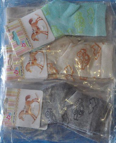 Носки хлопок-сетка для мальчика от 1-2 лет .Детская одежда оптом