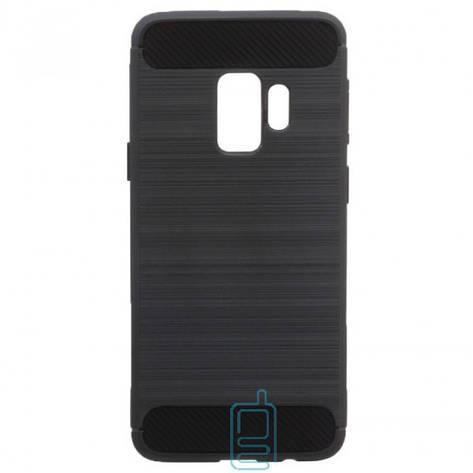 Чехол силиконовый Polished Carbon Samsung S9 G960 черный, фото 2