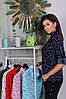 Женская рубашка со стойкой и карманами 42-44, 46-48, 50-52, 54-56, фото 7