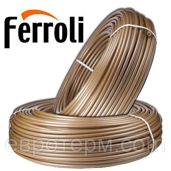 Труба для теплого пола FERROLI PEX-A 16*2 с кислородным барьером