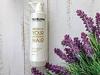 Шампунь для глубокой очистки волос с кератином Luxliss 500мл