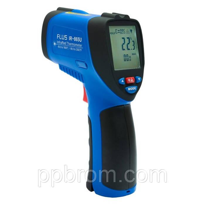 """Пирометр-регистратор Flus """"IR-865U"""" (-50...1850°C, 50:1, 0.1-1)"""