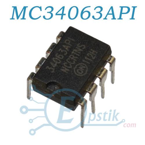 MC34063API, (КР1156ЕУ5), DC-DC преобразователь напряжения, DIP8
