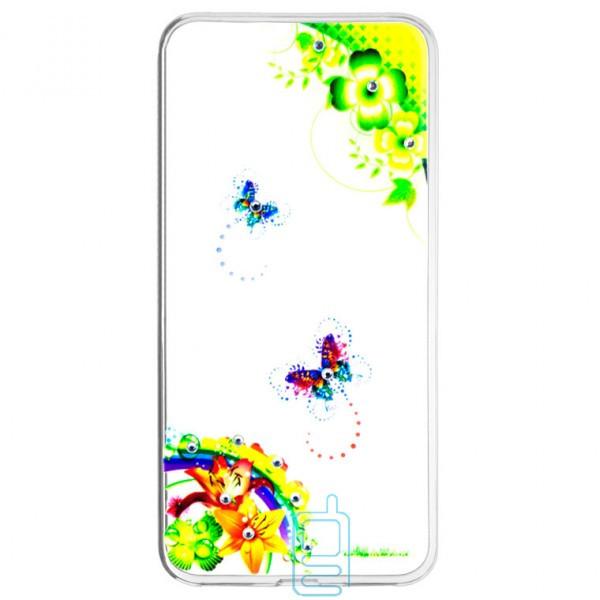 Накладка Fashion Diamond Huawei P10 Plus принт #5