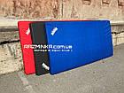 Мат для гимнастики 200х100х10см, синий, фото 4