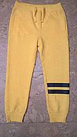 Новые спортивные брючки на манжетах ТМ Seven Lemon  желтого цвета 98-134 см