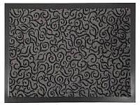 Коврик грязезащитный Узор, 60х90см., серый