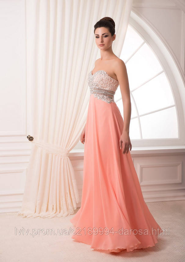 Платье вечернее завышенная талия