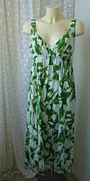 Платье женское летнее сарафан хлопок бренд Ethel Austin р.46