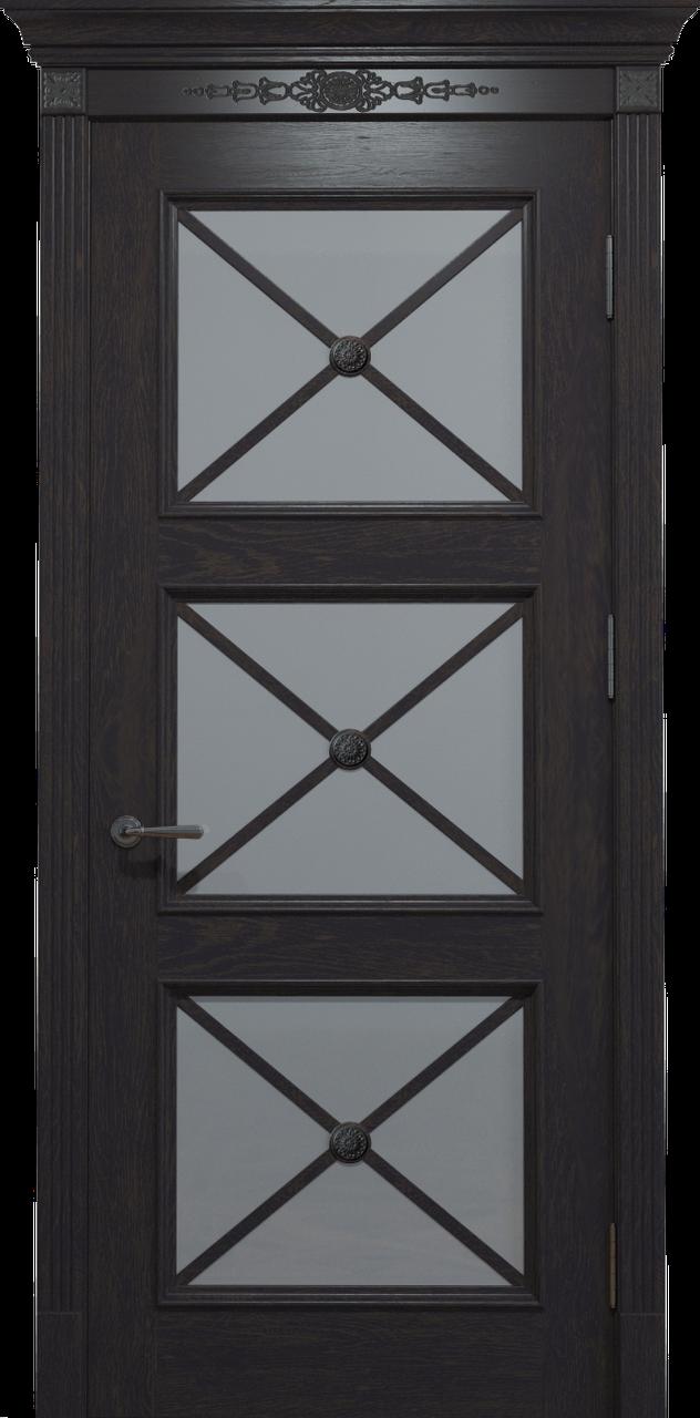 Двери Status Platinum Royal Cross RC-022.S01 Полотно+коробка+1 к-кт наличников+карниз