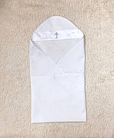 """Пеленка крестильная """"Ангел"""" белая, фото 1"""