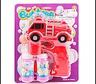 Мильні бульбашки пістолет Машина пожарних, фото 2