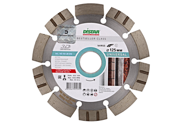 Отрезной диск Distar по бетону 1A1RSS/C3-H 125x2.2/1,4x11x22,23-10 (14315129010)UNIVERSAL