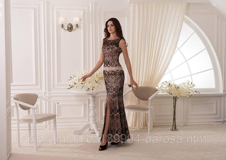 Шьем модное платье из гипюра